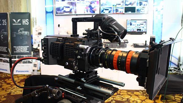 Capture Action 부스에서는 파나소닉의 최신 4K 카메라와 솔루션이 전시되었다