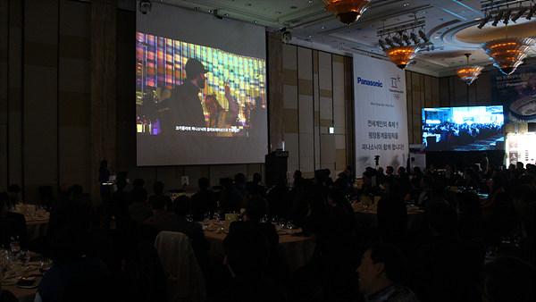 지난 올림픽에서 파나소닉 지원 관련 동영상 시청