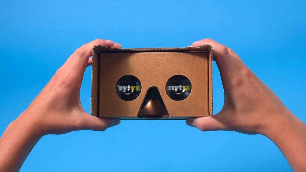[그림 1] 뉴욕타임스 NYT VR 카드보드 / 출처 : mobilemarketingmagazine.com