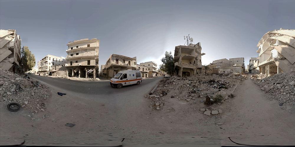 [그림 4] 디스커버리 VR Welcome to Aleppo 화면 / 출처 : japantimes.co.jp