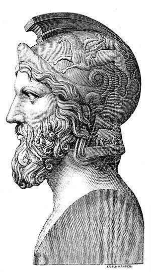 밀티아데스 장군 (Miltiades, 550 ~ 489 BC) / 출처 : 위키피디아