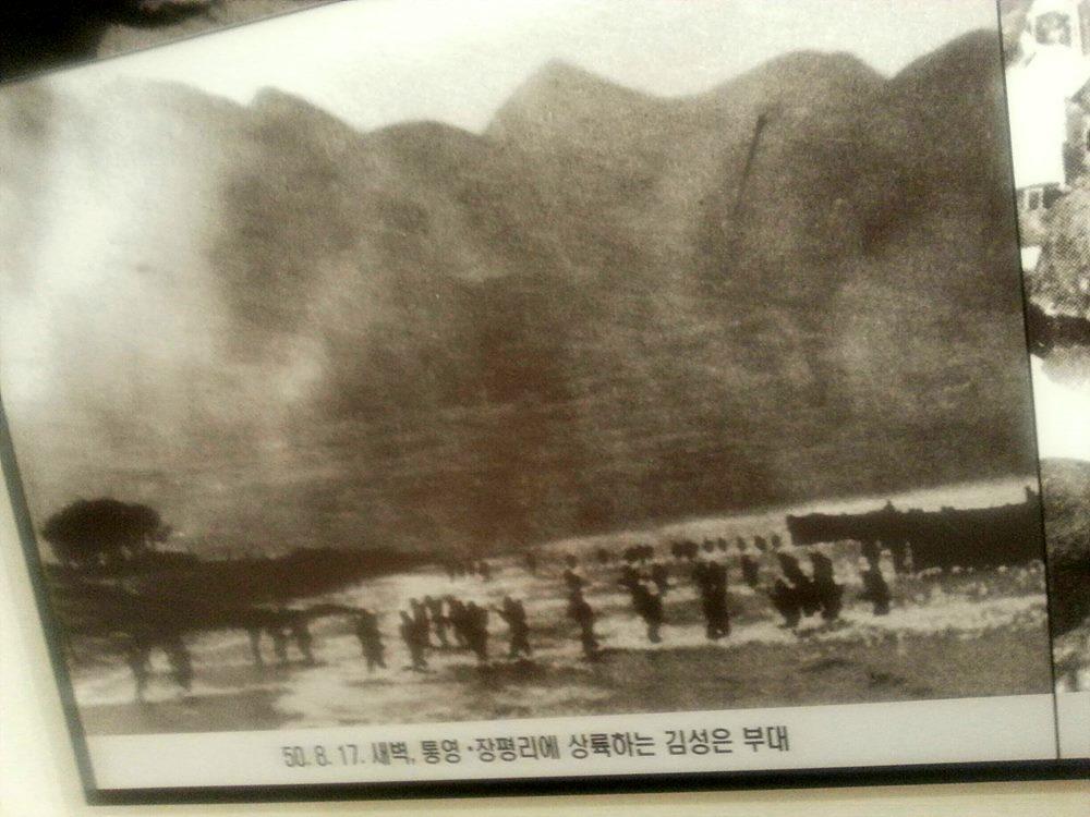 통영상륙작전 당시 상황도 / 출처 : 통영상륙작전기념관