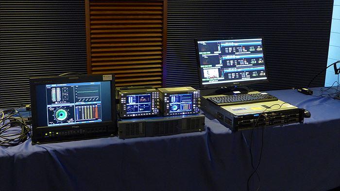 mediaproxy 로그 서버 모니터링 시연 및 라우드니스 콘트롤러인 APM-6803