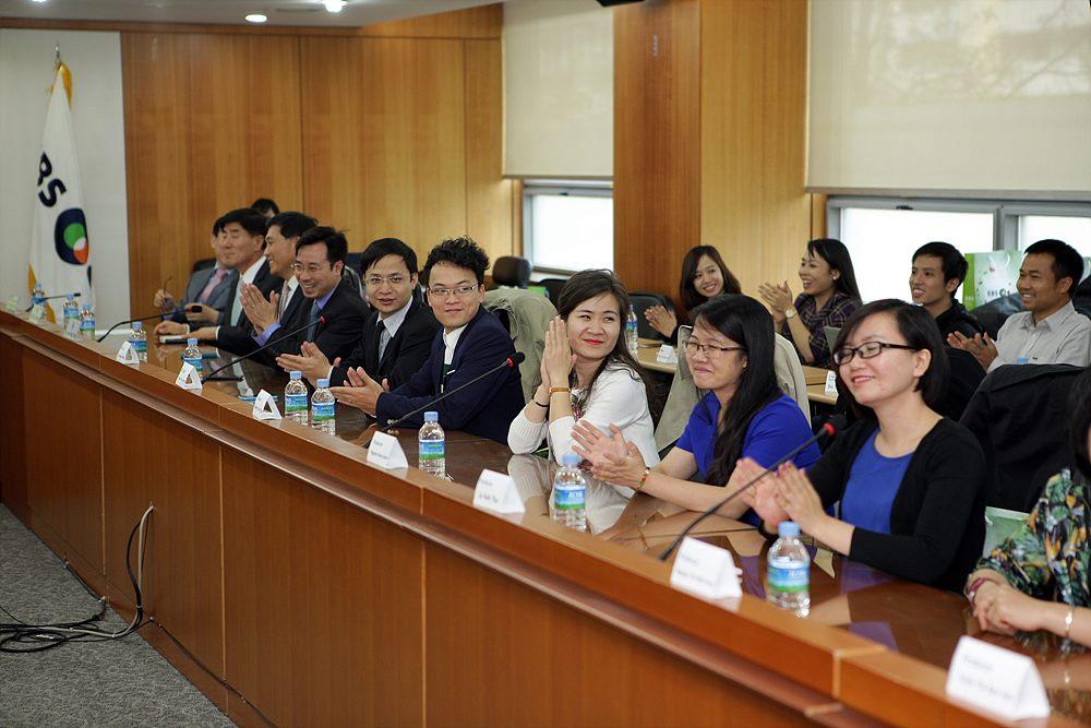 서울에서 실시한 방송연수 사진