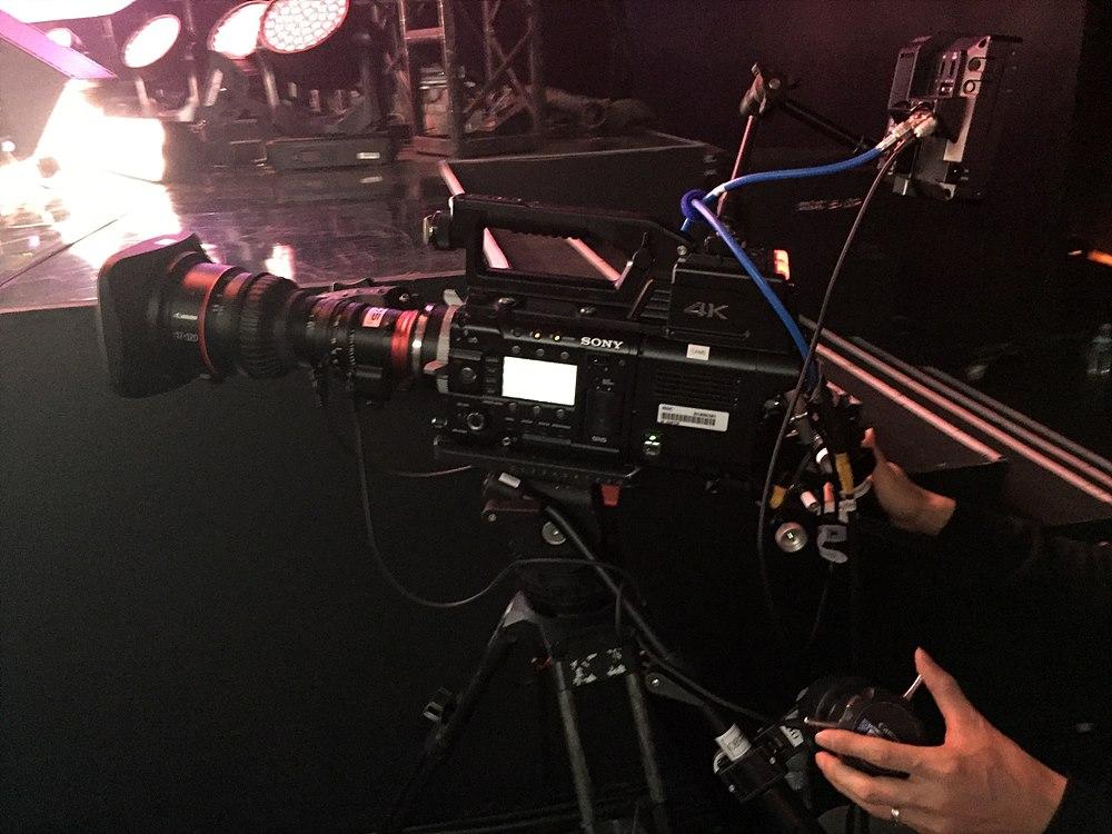 그림 9. CAM 5번 : Sony 4K 카메라 (PMW-F55) 17-120mm (Canon) PL