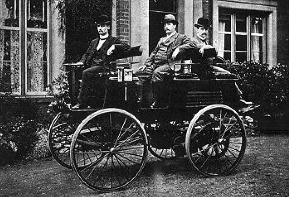 토마스 파커의 전기 자동차
