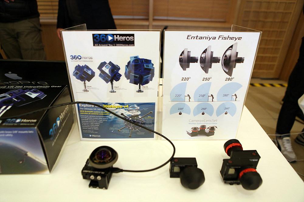 전시된 VR 제품