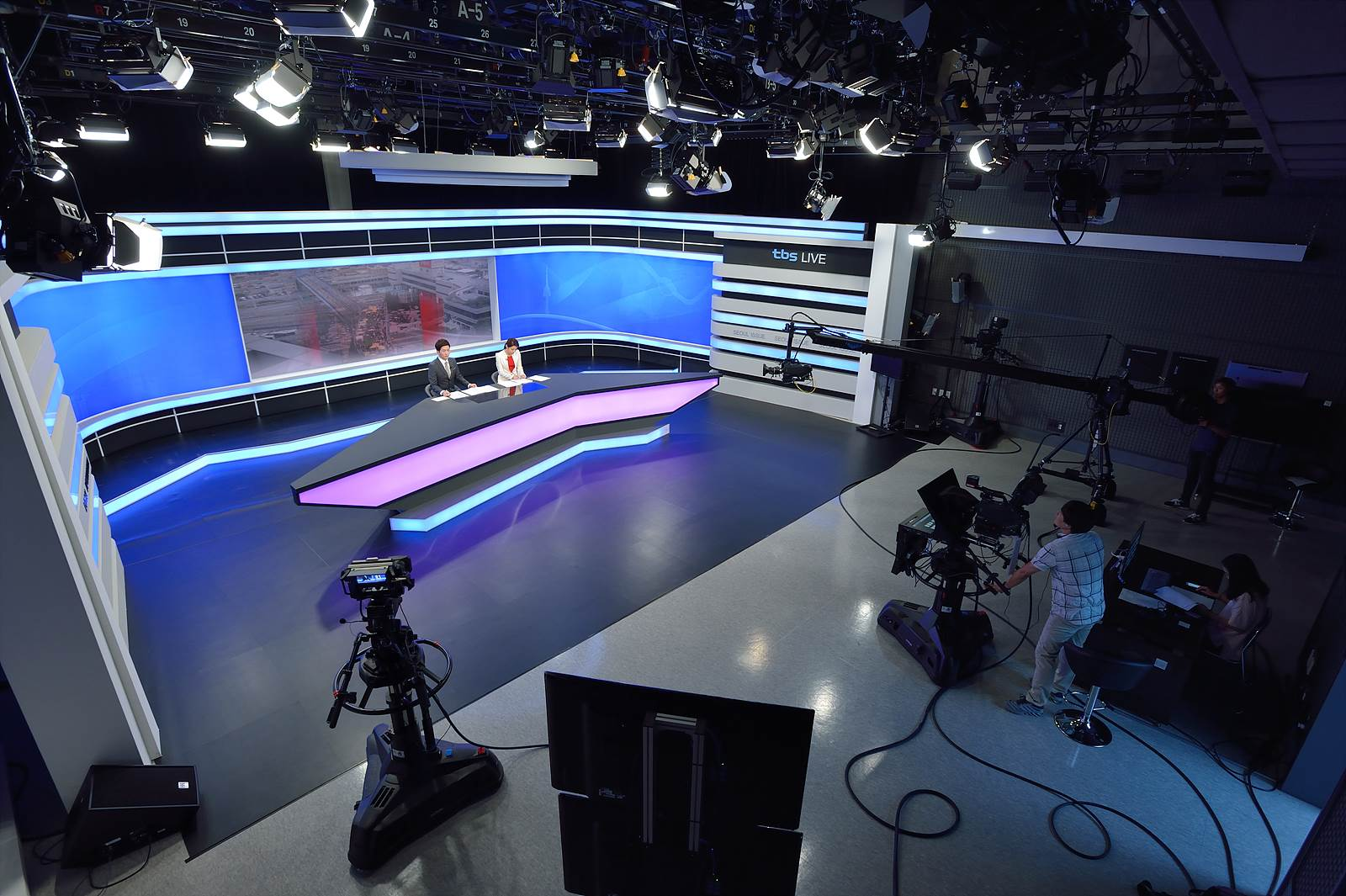 tbs 상암 TV 스튜디오