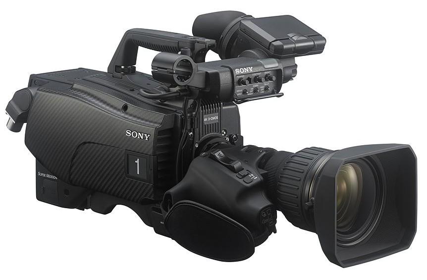 그림 3. HDR을 지원하는 Sony HDC-4300 4K 카메라