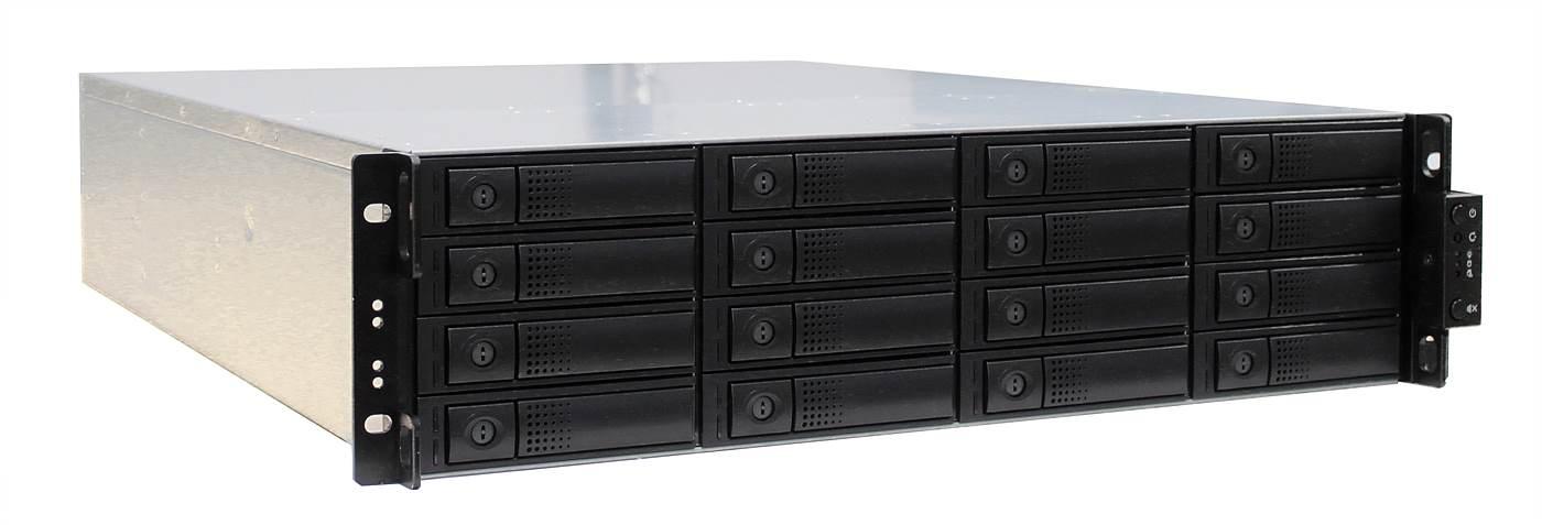 evServ Unified Storage NAS 16bay RAID System
