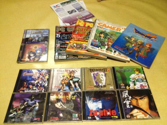 게임잡지를 통해 공급하게 된 국내외 PC 게임들