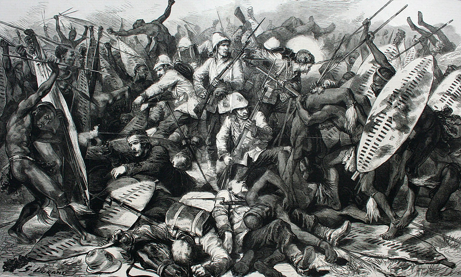 출처 : www.ianknightzulu.com/battle-isandlwana-22-january-1879