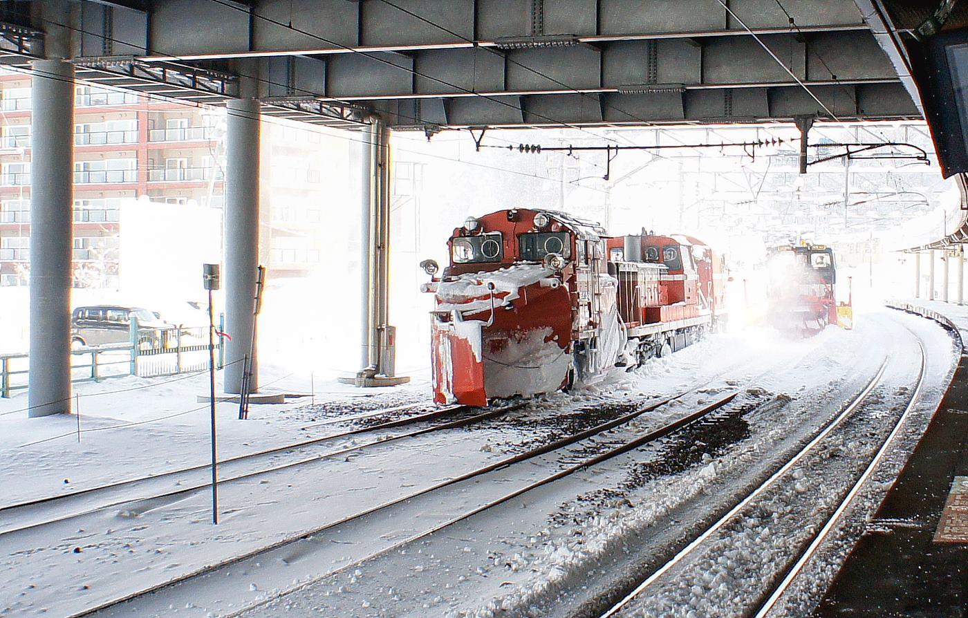 인상적인 제설 기차