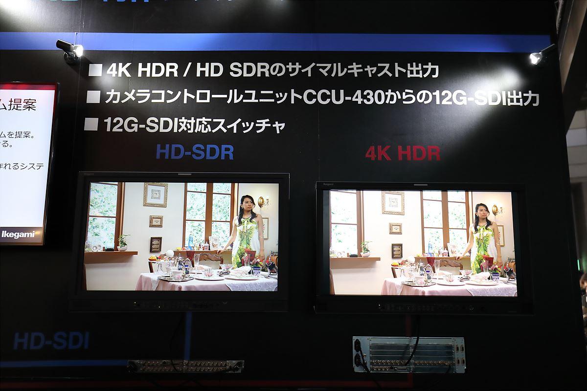 HD SDR/4K HDR 비교