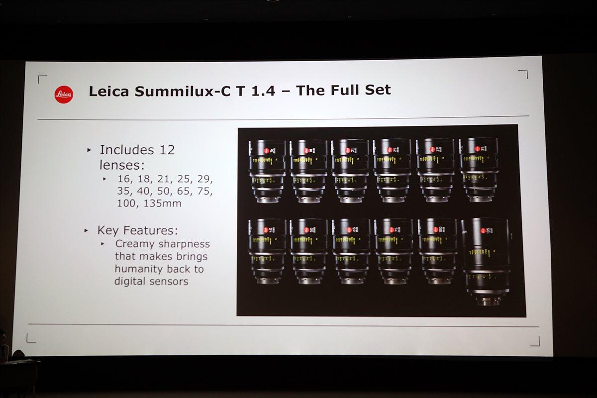 Summilux-C T1.4 렌즈의 특징과 종류 소개