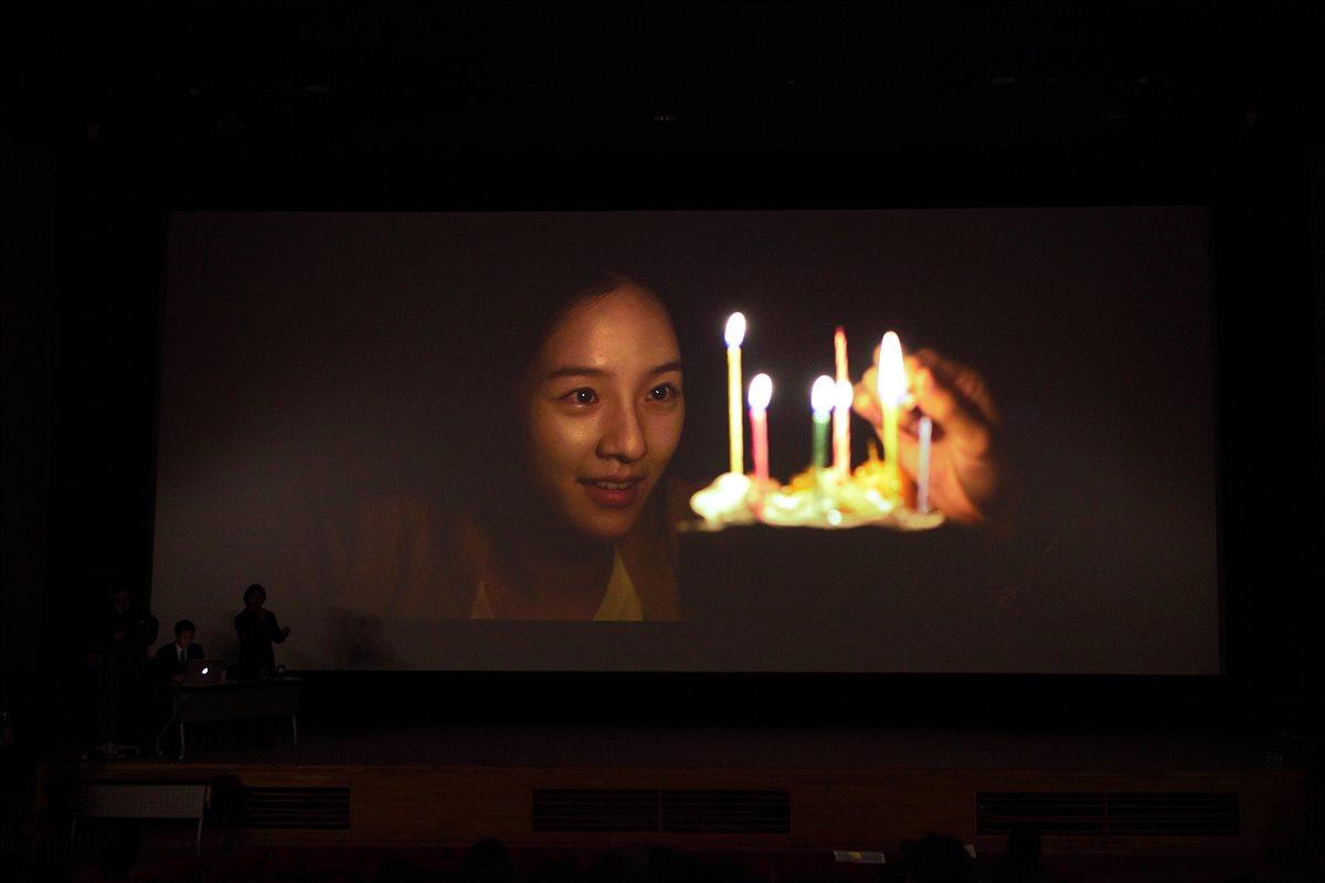 촬영한 영화 클립을 통한 렌즈 특징 설명