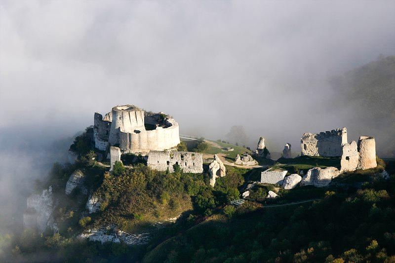 현재의 샤토 가이야르 / 출처 : www.lesandelys-tourisme.fr