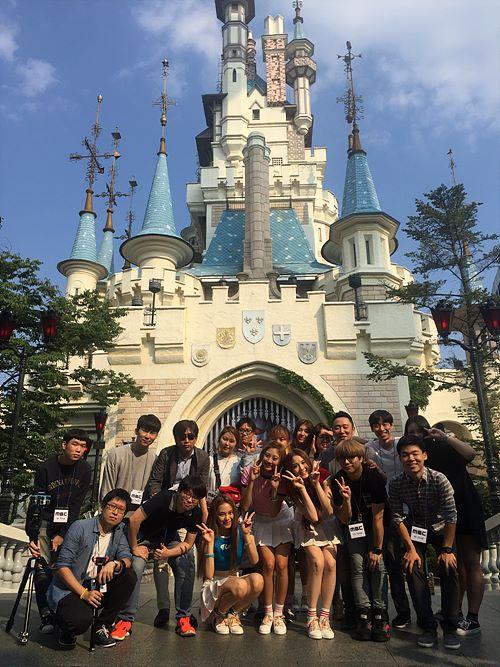 MBC 스마트 특수영상제작팀 단체사진
