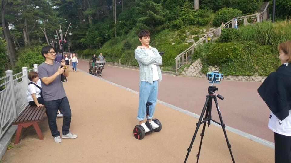 쇼핑왕 루이 주연배우 서인국씨 촬영 장면