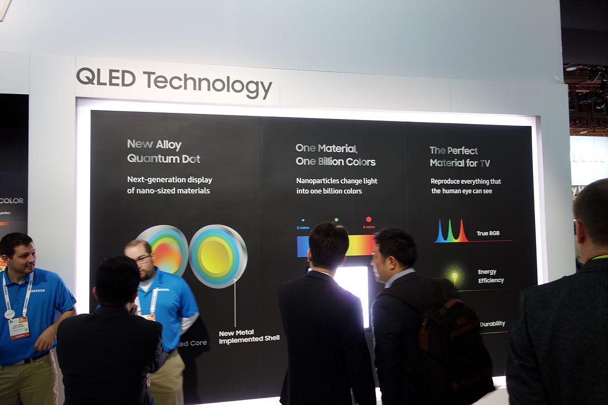 ▲ LG, 삼성 TV의 화질 홍보 - 모든 HDR 방식을 지원하는 LG TV, 화질을 높인 새로운 패널 QLED를 채용한 삼성 TV