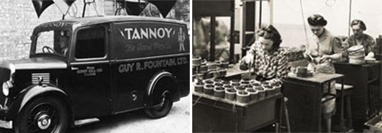 1930년대 TANNOY는 자동차 오디오 및 모바일 PA 시스템 사업을 실시했다 / 1930년대 TANNOY는 스피커 시스템 및 오디오 구성 요소의 가장 혁신적인 설계 및 제조업체 중 하나로 자리 잡았다.