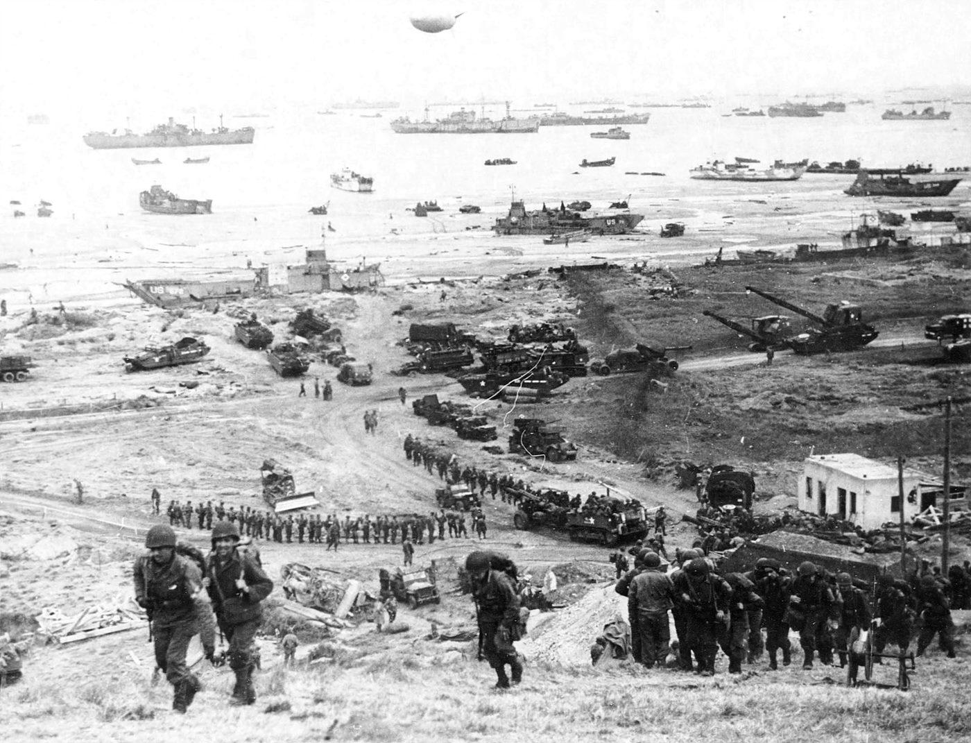 노르망디 상륙작전 사진 / 출처 : wekipedia