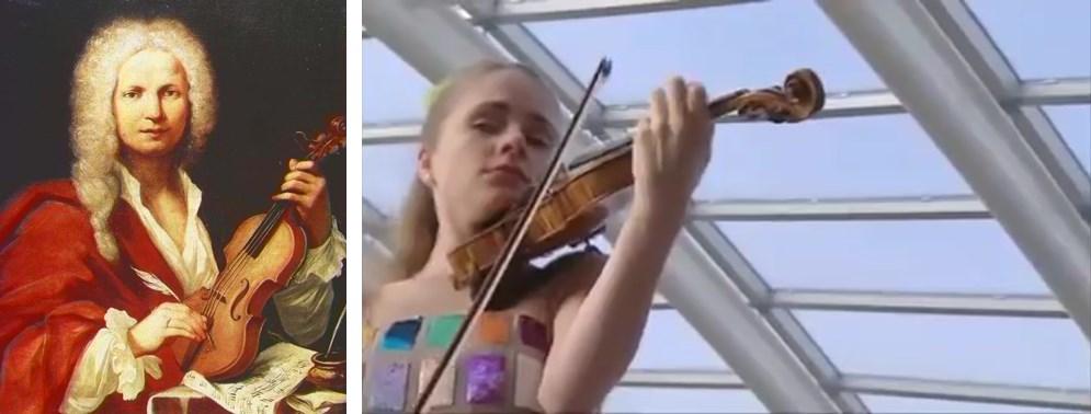안토니오 비발디 / 비발디의 바이올린 협주곡 '봄' - 율리아 피셔