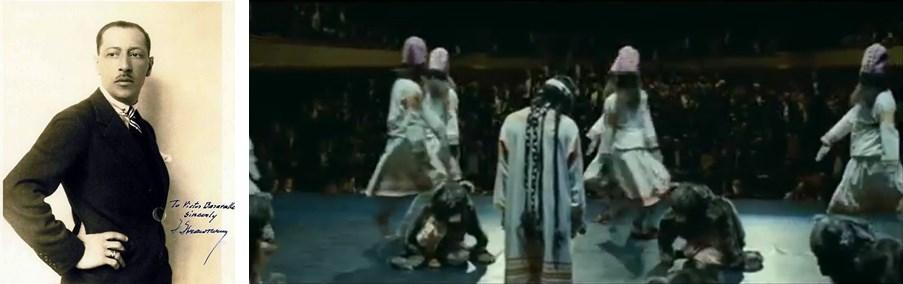 이고르 스트라빈스키 / 스트라빈스키의 발레음악 '봄의 제전'