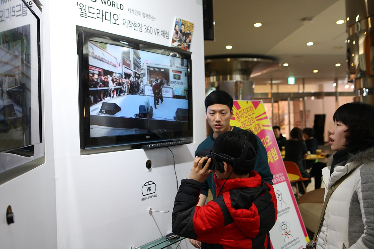 360도 VR을 적용한 라디오 생방송 및 제작 현장 체험