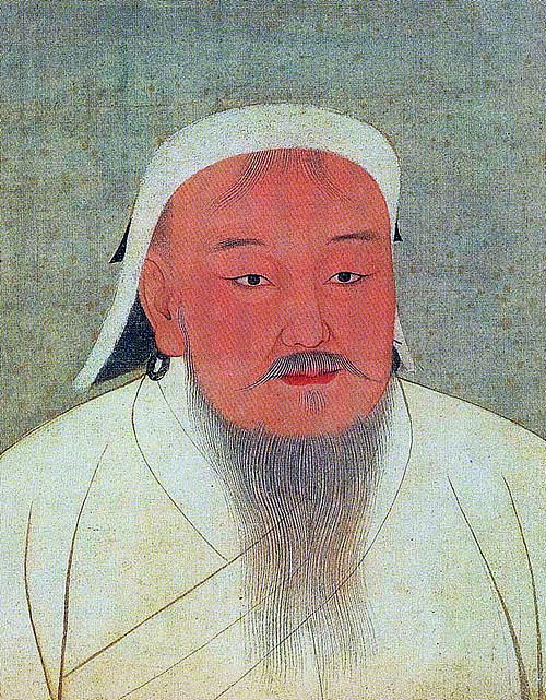 칭기즈칸  (1155/62/67? - 1227)