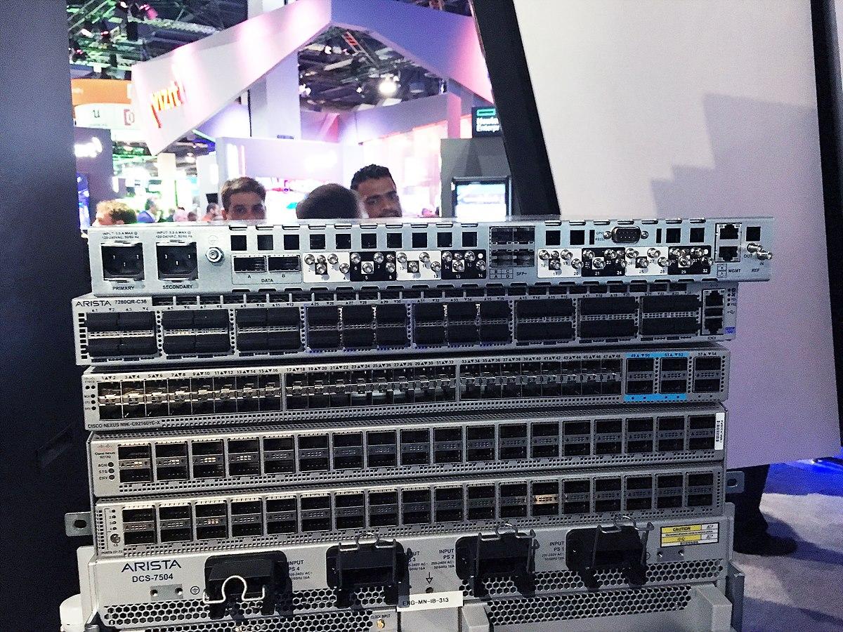 그림 11. NAB 2017에 전시된 다양한 25GE Network Switch