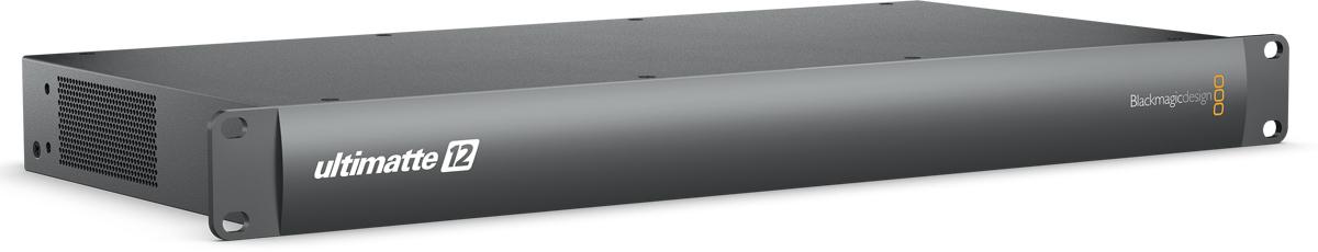Ultimatte 12, 차세대 HD 및 UHD 방송 그래픽에 필요한 라이브 키잉 작업을 위해 제작된 첨단 12G-SDI 실시간 합성 프로세서