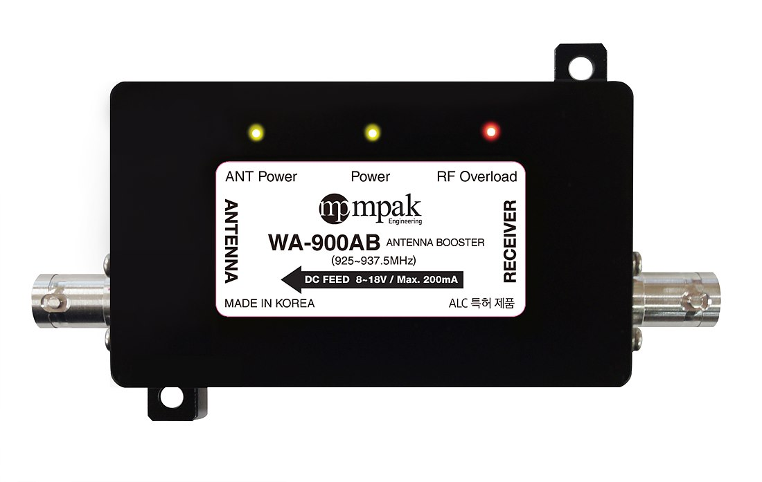 WA-900AB ANTENNA BOOSTER