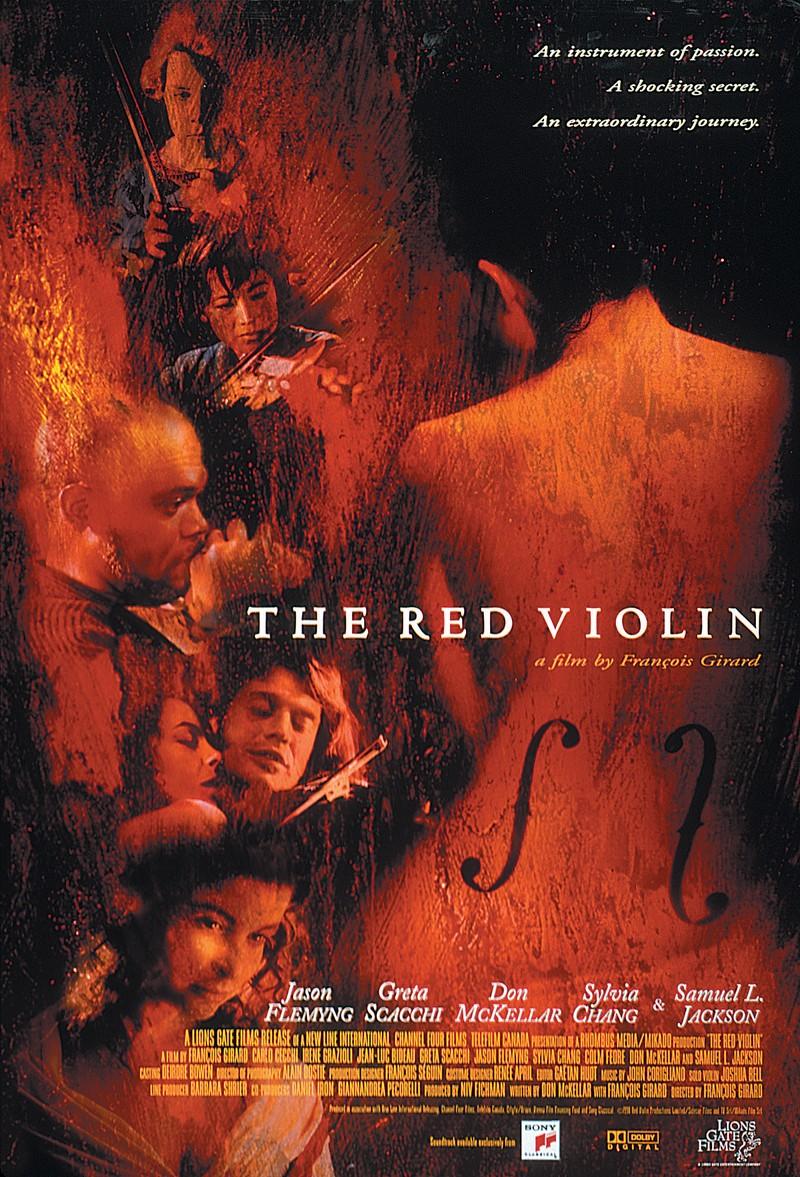 '레드 바이올린'의 포스터