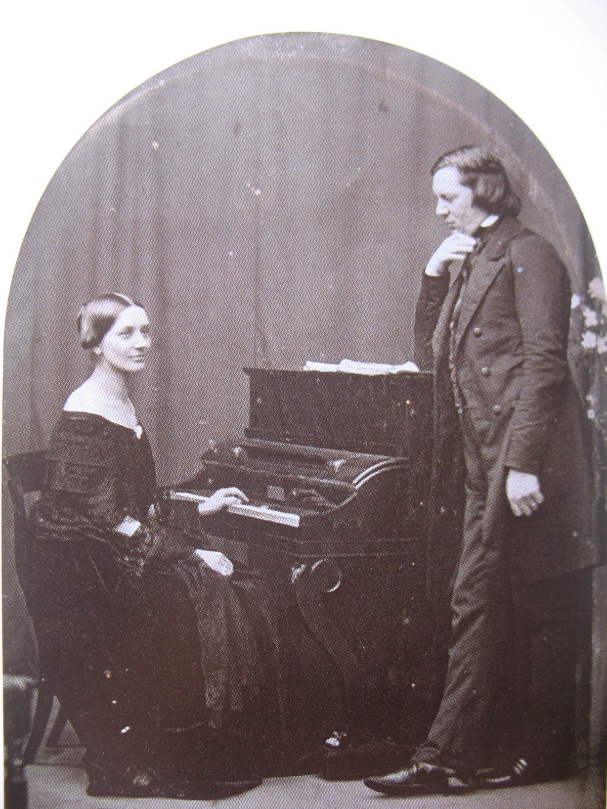 로베르트 슈만과 그의 아내