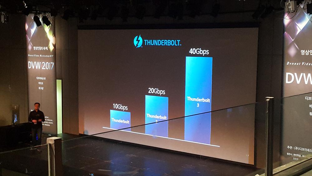 차세대 인터페이스 THUNDERBOLT.