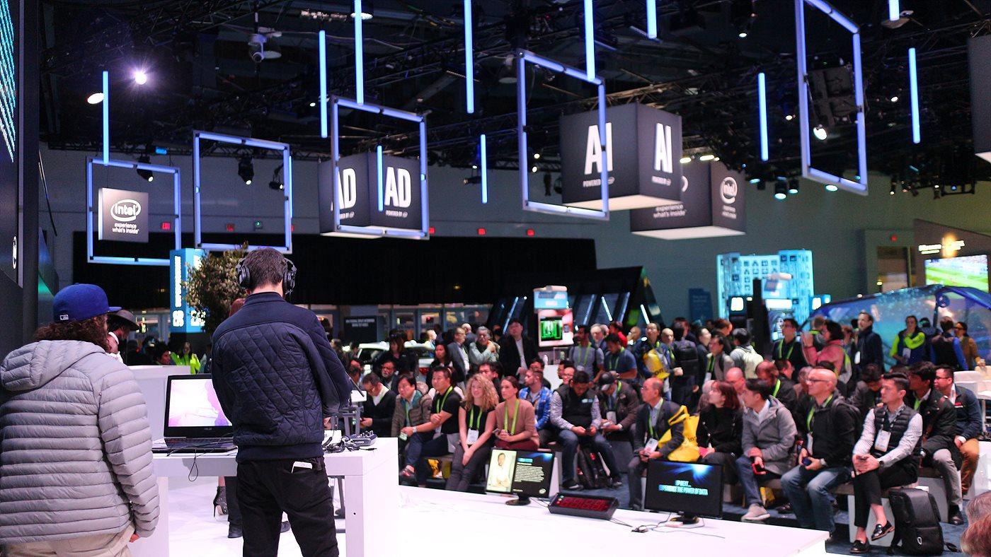 AI, AD, VR 등 인텔의 최신 기술이 선보였다