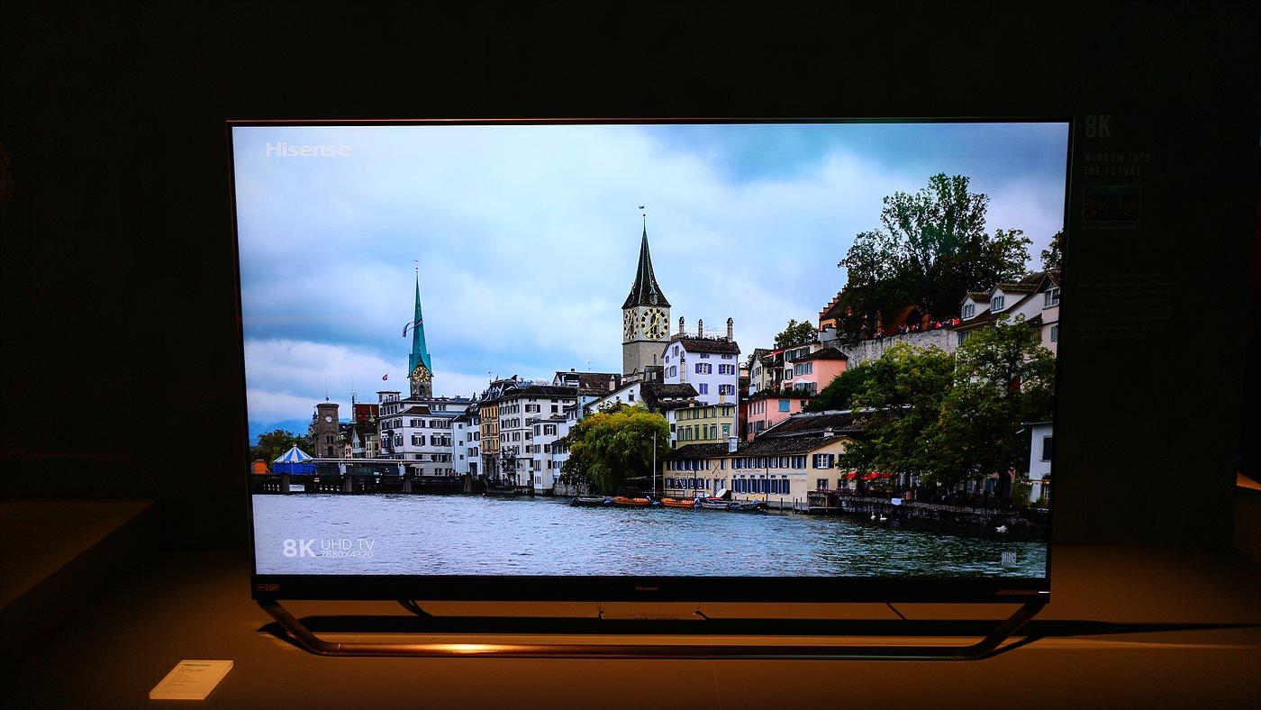Hisense의 8K QLED TV