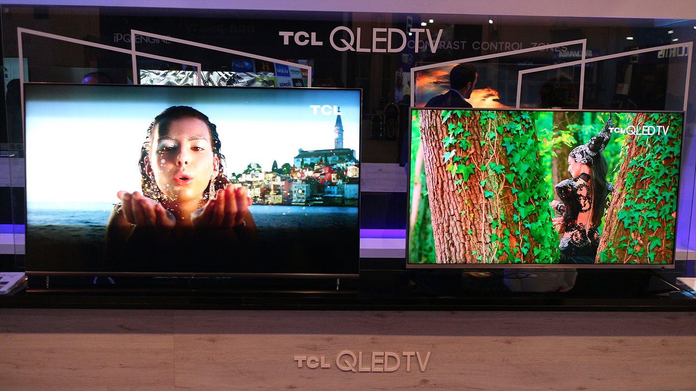 로컬 디밍과 QLED 기술의 TCL 4K TV