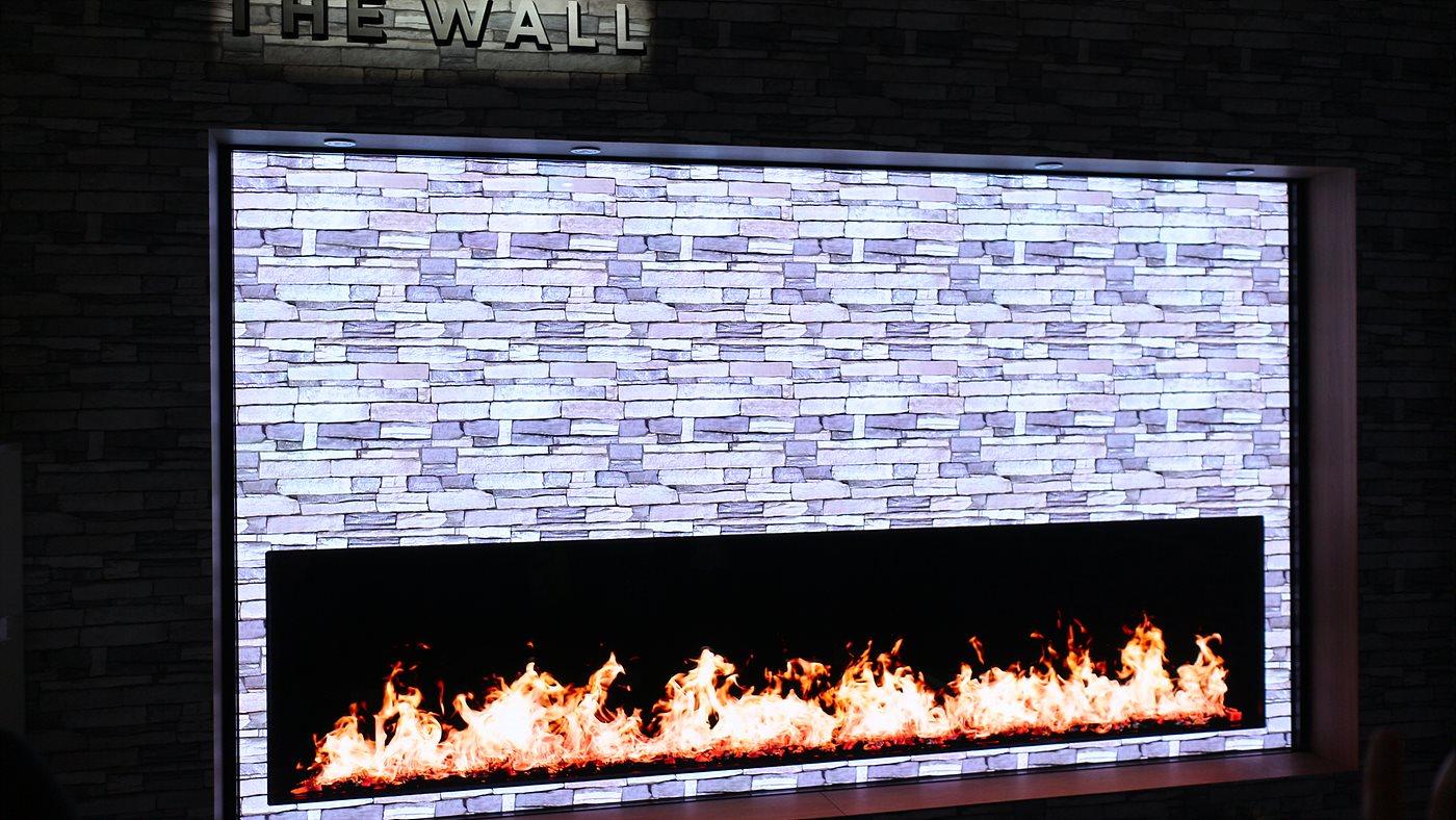 146인치 모듈러 TV인 '더 월(The Wall)'