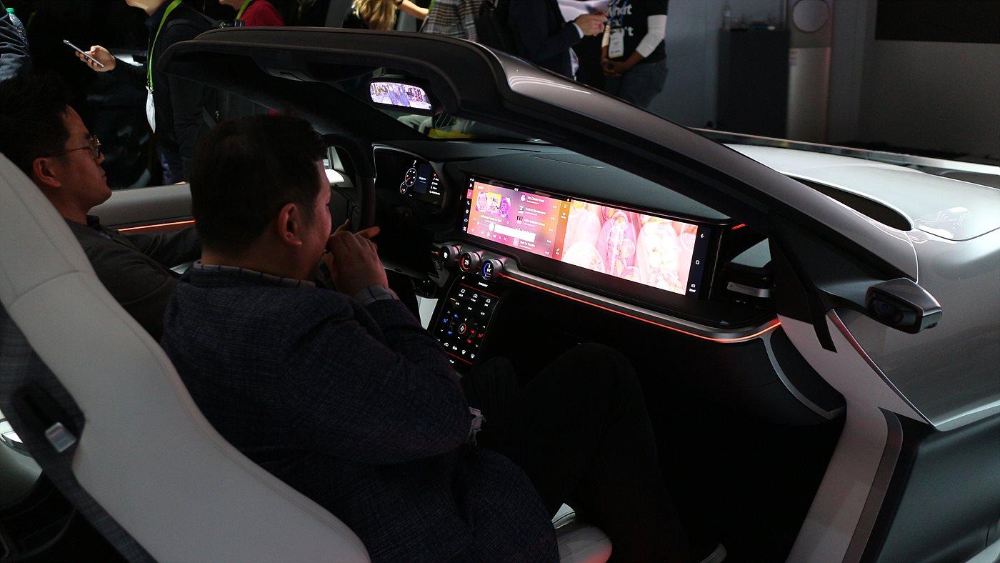 삼성과 하만이 협력한 스마트 운적선 콘셉트