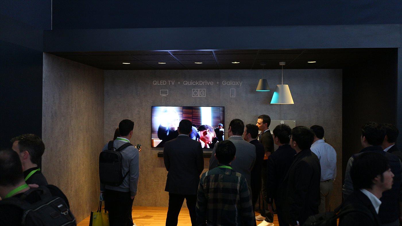 삼성의 AI 플랫폼인 Bixby 체험존