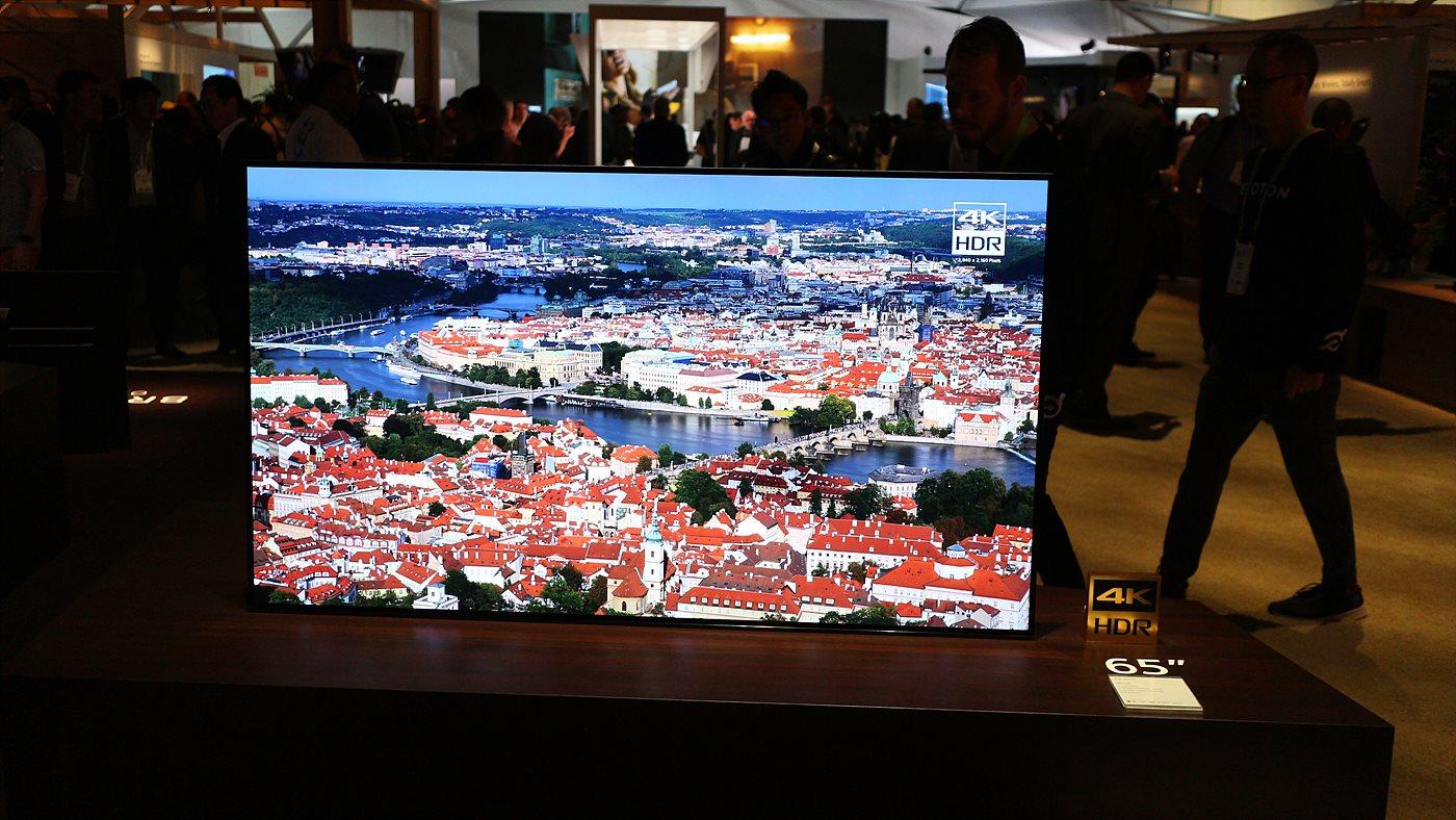 X1 익스트림 프로세서를 탑재한 소니의 브라비아 OLED TV