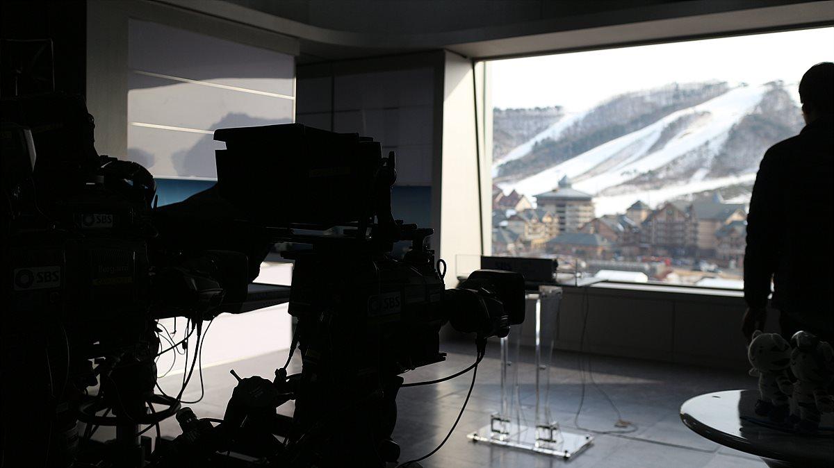 IBC 5층의 SBS 스튜디오