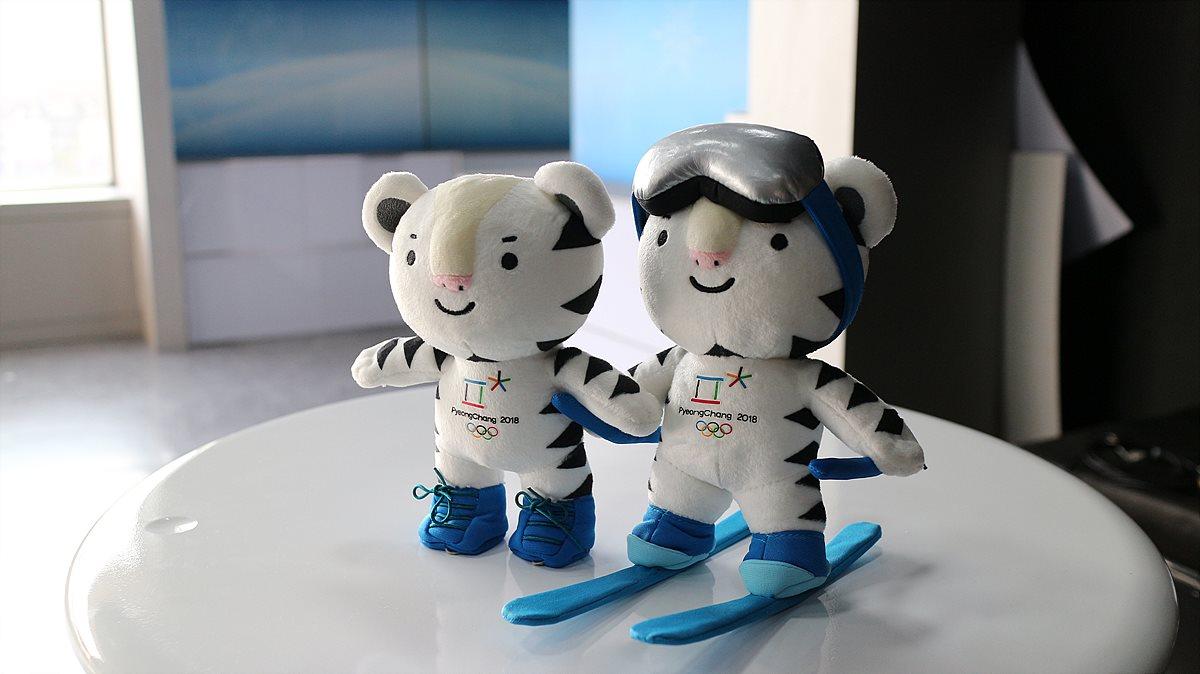 평창 동계올림픽 마스코트인 반다비 인형