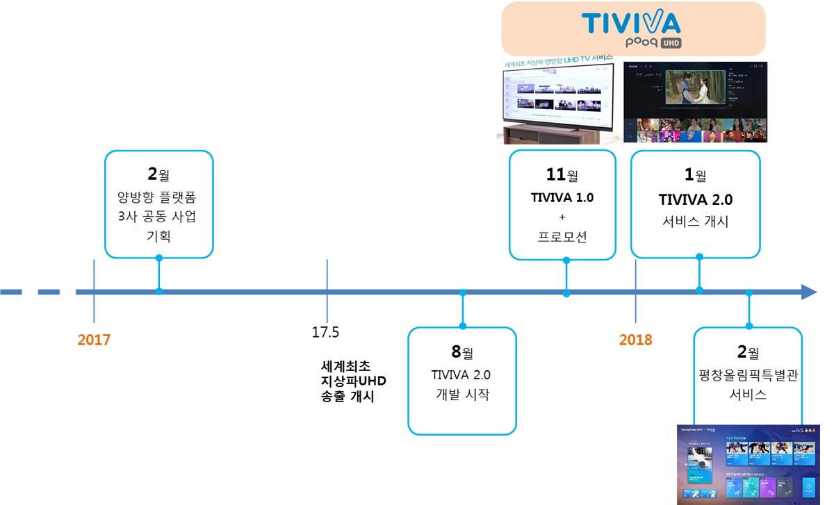 TIVIVA 서비스 구축 경과
