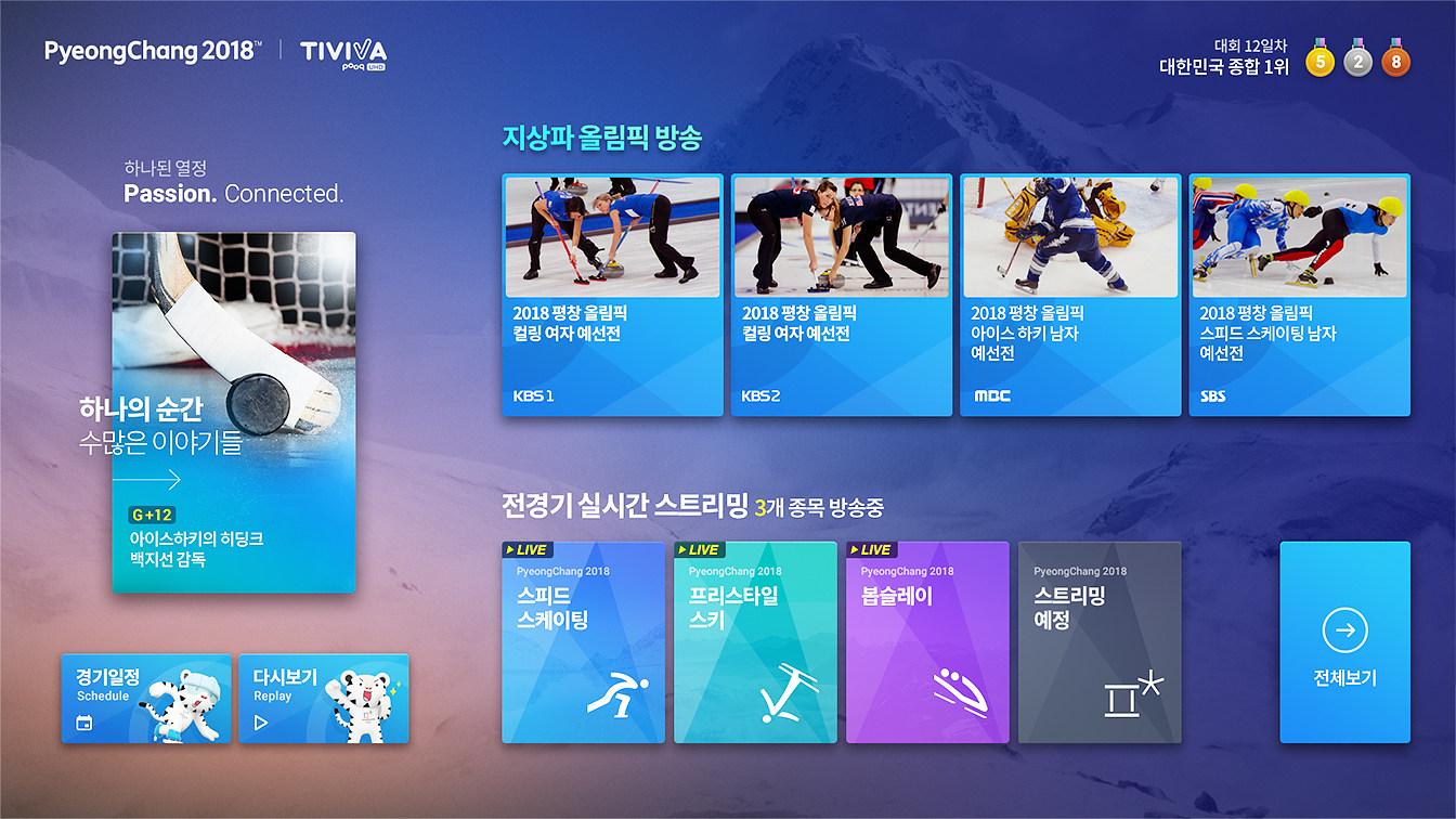 TIVIVA 2.0 평창동계올림픽 특별관