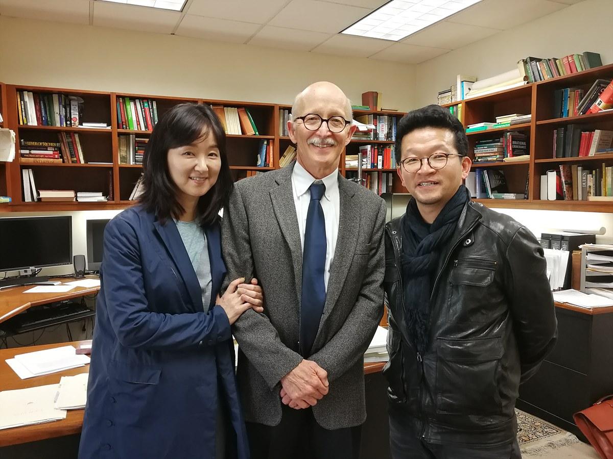 미국, 칼텍 필립 호프먼 교수 인터뷰 오정호 피디와 이미애 코디