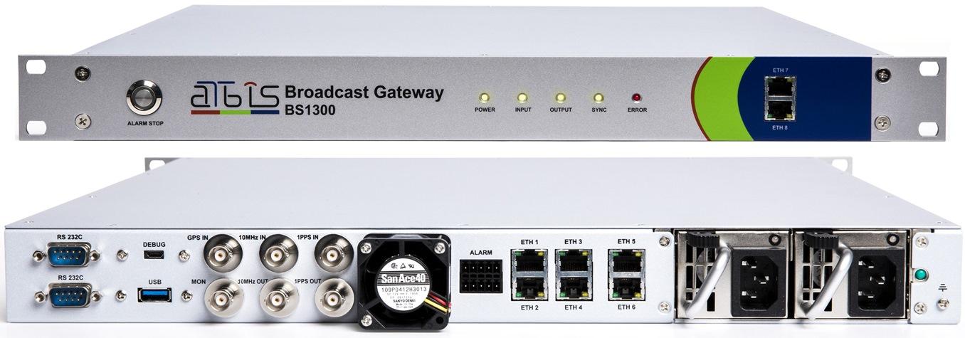 지상파 UHD(ATSC 3.0) 브로드캐스트 게이트웨이 BS1300