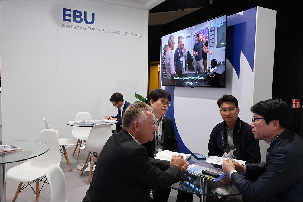 EBU 및 유럽 지상파 방송 근황에 대해 논의